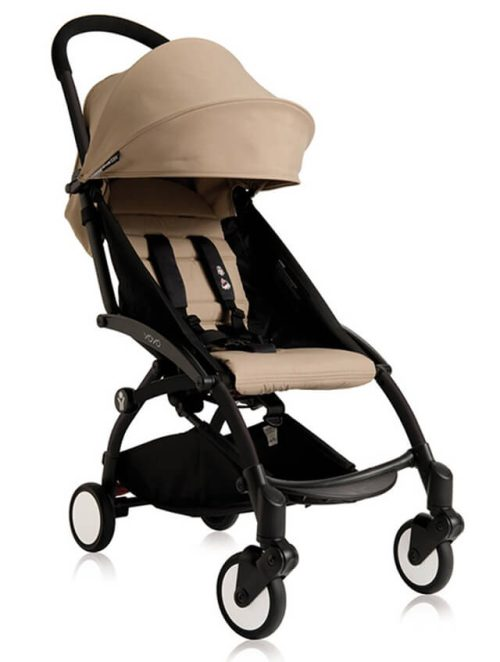 BabyZen Yoyo Stroller Black Taupe