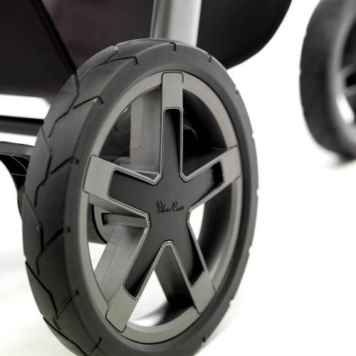Silver Cross Pioneer Graphite CHUNKY Wheels
