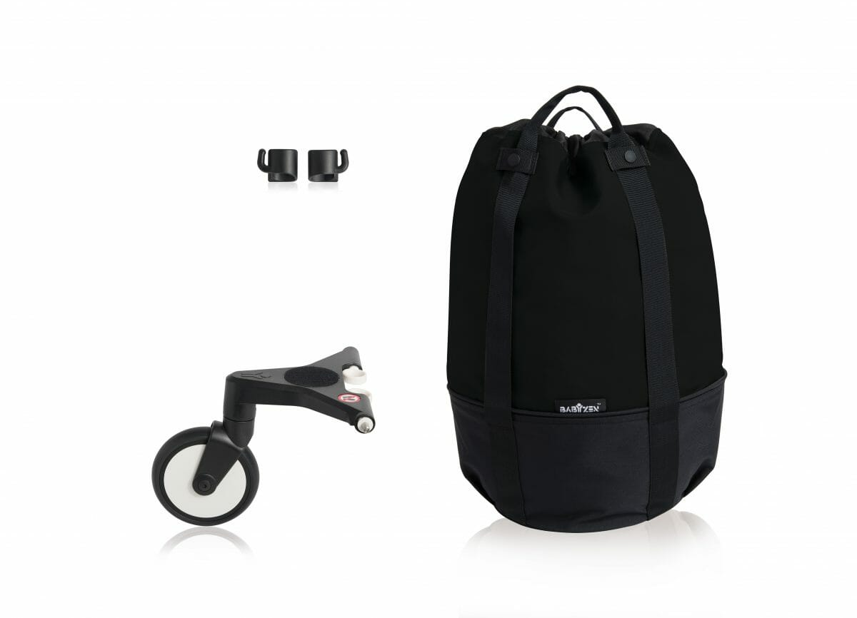 Yoyo Rolling Bag Black