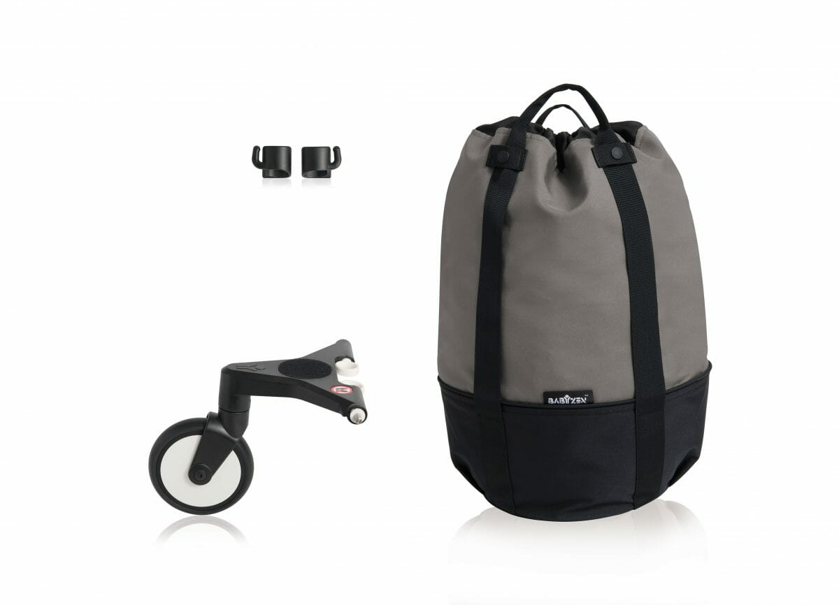Yoyo Rolling Bag Grey