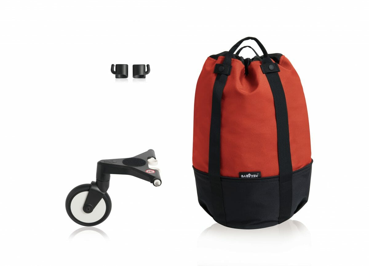 Yoyo Rolling Bag Red