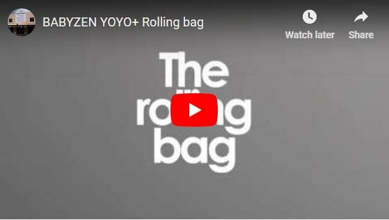Babyzen Yoyo Rolling Bag Video