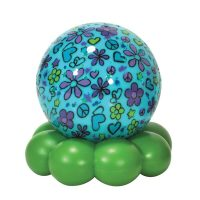 Cloud B Groovy Globe Aqua Flower