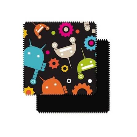 CuddleCo Comfi-Cush Robots Fabric