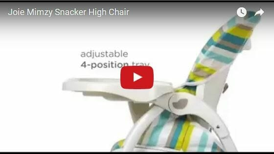 Joie Mimzy Snacker High Chair Cideo Review