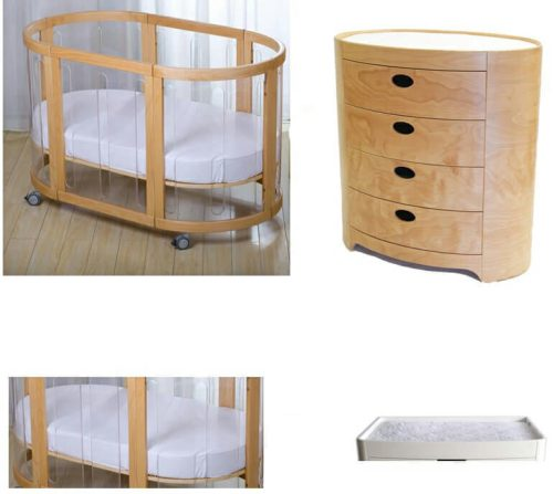 Kaylula Cot Sova Chest 4 Pce Package Deal