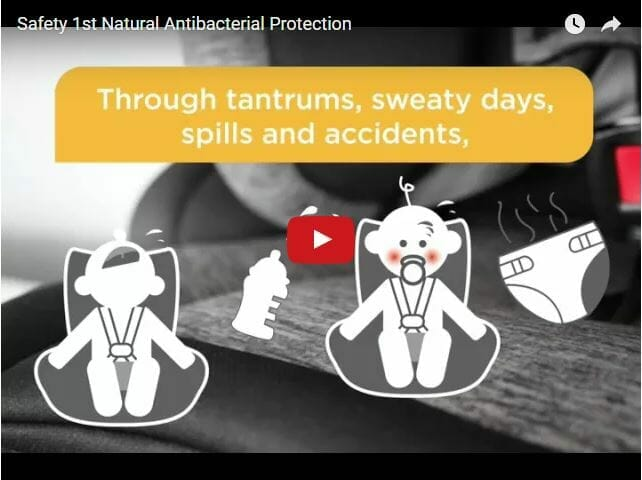 Safety 1st Natural Antibacterial Fabric Video
