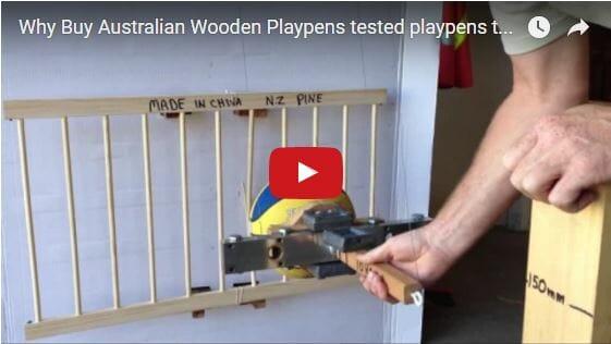 Why Buy Australian Wooden Playpens