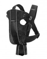BabyBjorn Baby Carrier Original Black Mesh