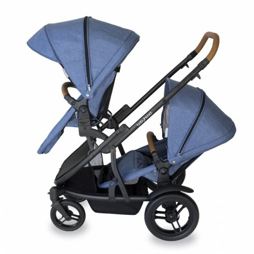 Babyhood Doppio Marina Double Forward Seats Blue