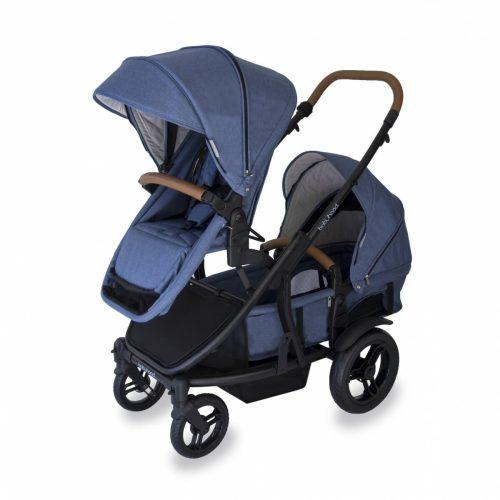 Babyhood Doppio Marina Hero Double Seat Bassinet Forward