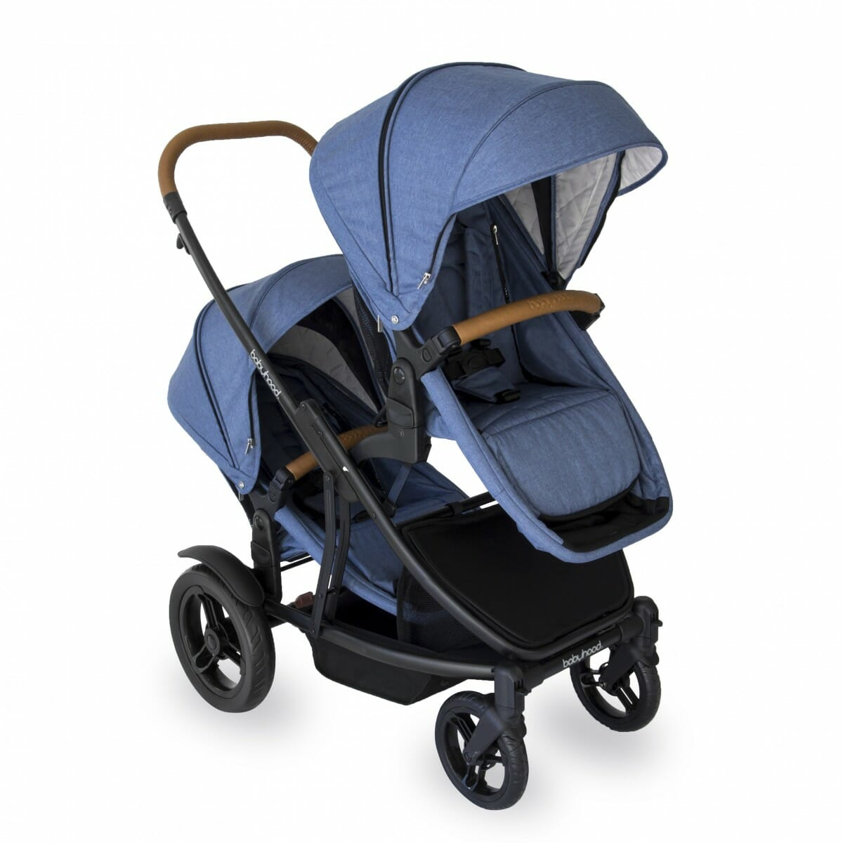 Babyhood Doppio Marina Hero Double Seat Forward Blue