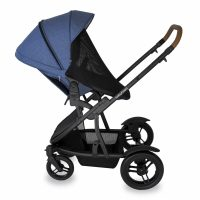 Babyhood Doppio Marina Single Backwards Seat Net Blue
