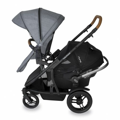 Babyhood Doppio Nero Double Forward Seat Capsule Grey