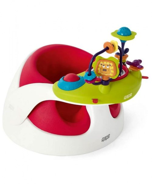 Mamas and Papas Baby Snug Red with Activity Tray