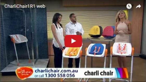 CharliChair- Baby Shower Chair Video Review