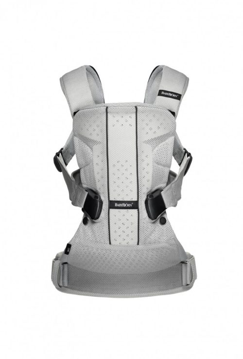 BabyBjorn One Air Baby Carrier – Silver, Mesh