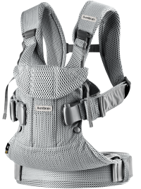 Babybjorn Baby Carrier One Air Silver 3d Mesh 1
