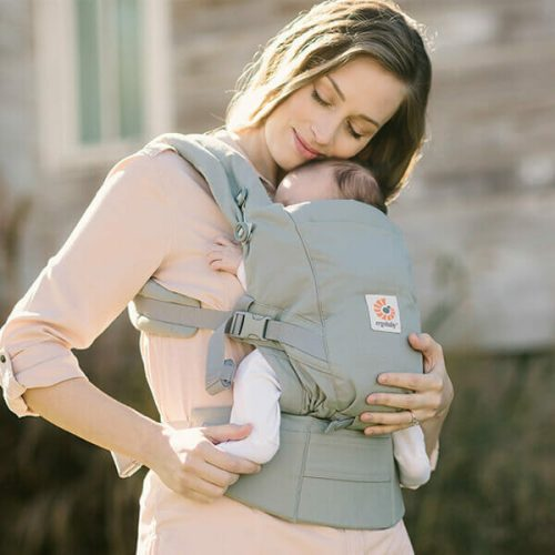 Ergobaby ADAPT Baby Carrier Pearl Grey lifestyle 2