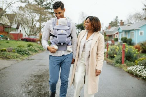 Ergobaby Adapt Cool Air Mesh Baby Carrier Lifestyle 2