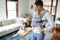 Ergobaby Adapt Cool Air Mesh Baby Carrier Lifestyle 3