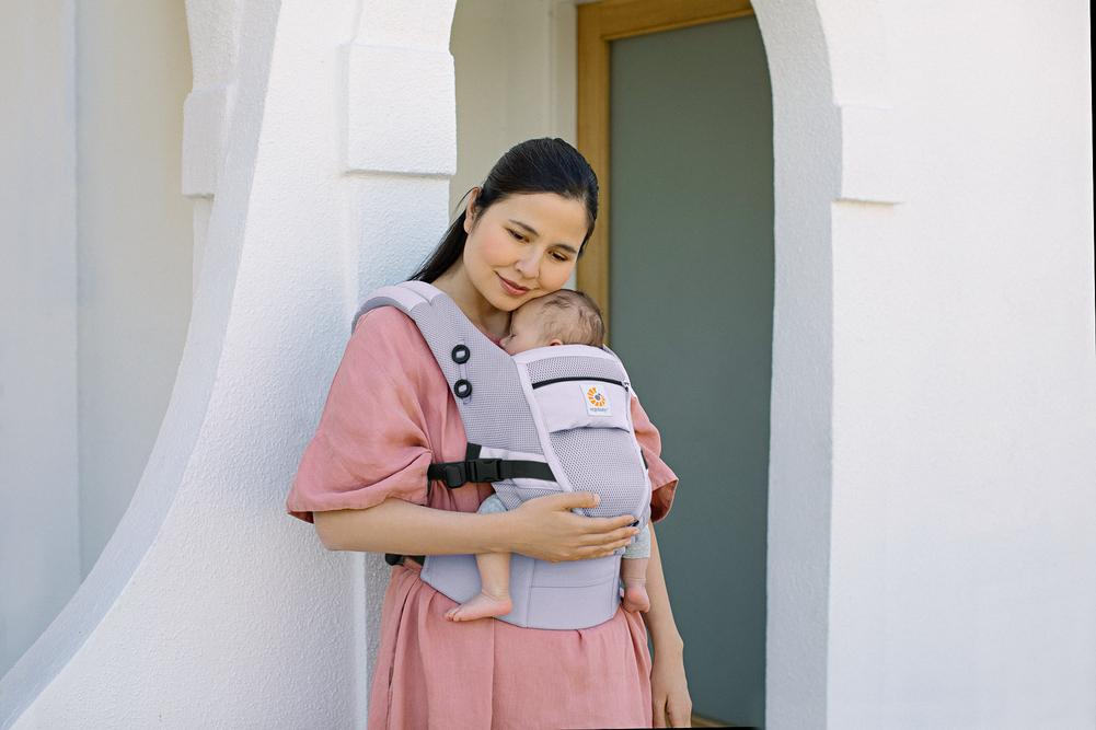 Ergobaby Adapt Cool Air Mesh Baby Carrier Lifestyle