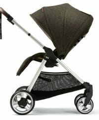 Mamas and Papas Armadillo XT Stroller Khaki Rear Facing