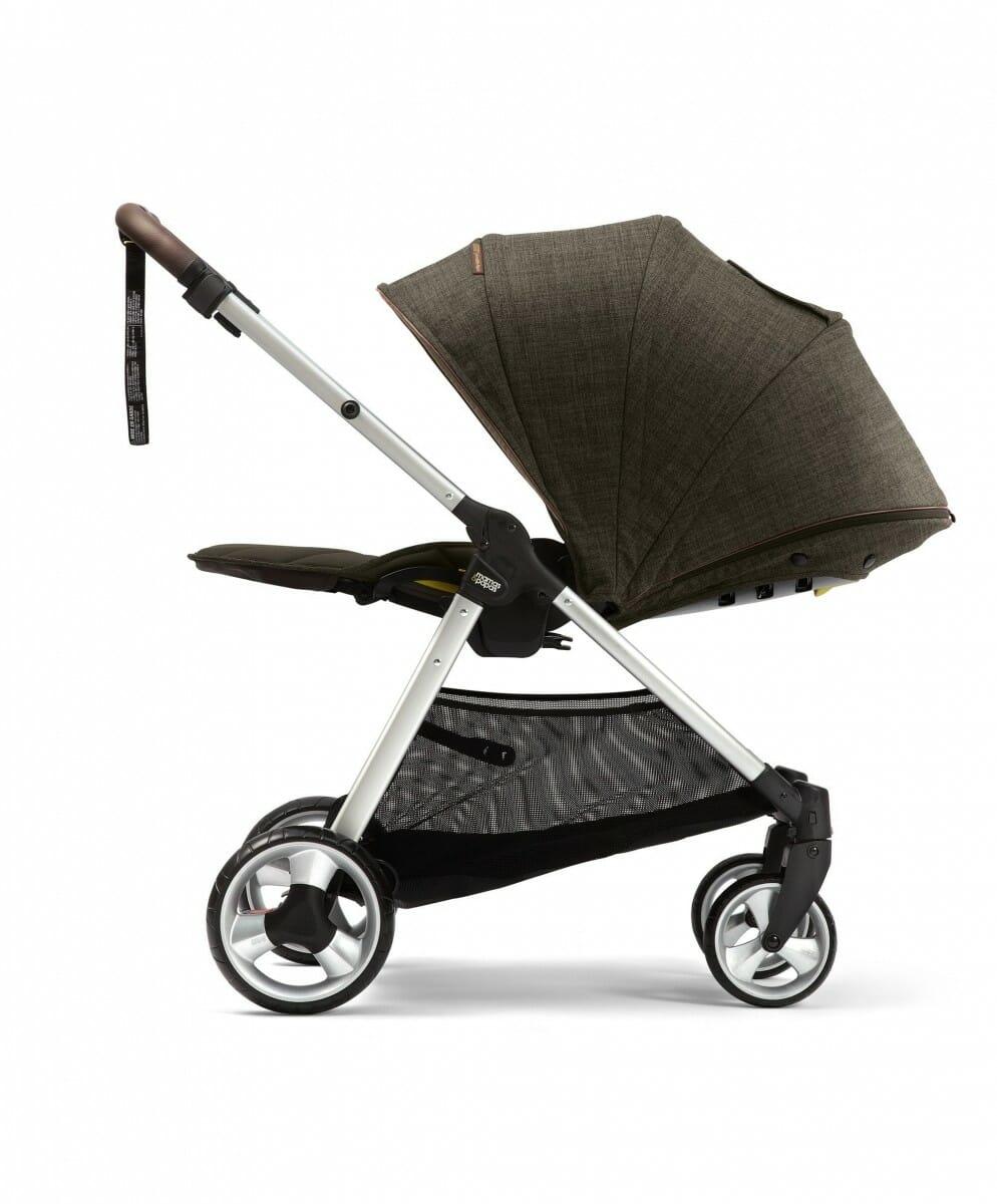 Mamas and Papas Armadillo XT Stroller Khaki Full Recline
