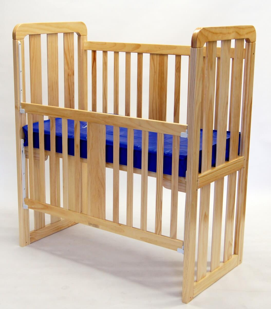 babyhood Ergonomic Cot Drop Side Down