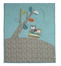 Mamas and Papas Timbuktales Coverlet Cot Boys
