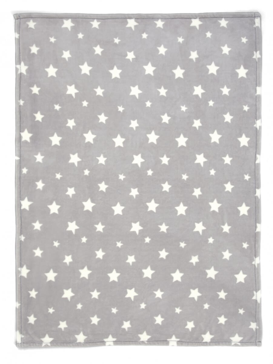 Mamas and Papas Millie and Boris Large fleece blanket open