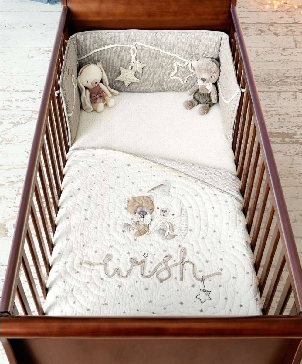 Mamas and Papas Millie and Boris in cot