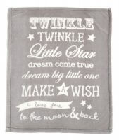 Mamas and Papas Millie and Boris small fleece blanket