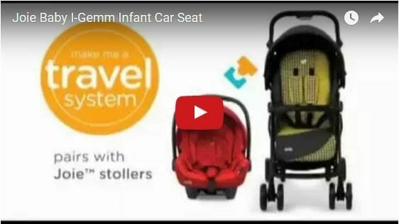 Joie i-Gemm Isofix Baby Capsule Video Review