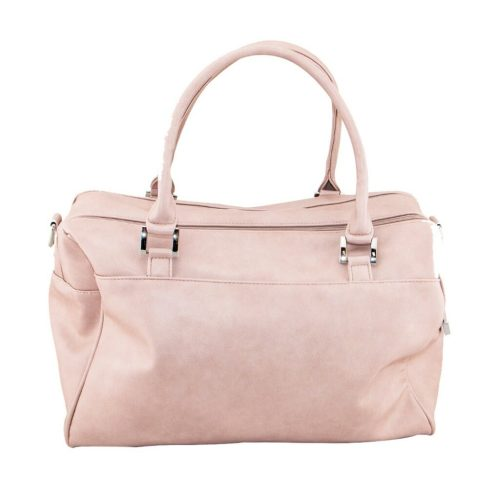 Isoki Double Zip Satchel Mushroom Rear