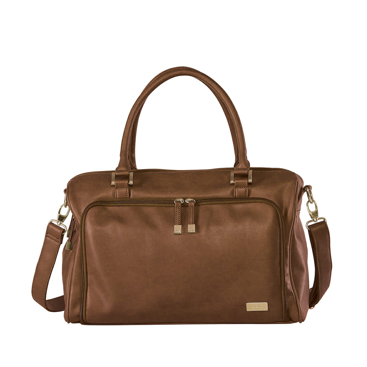 Isoki Double Zip Satchel Redwood
