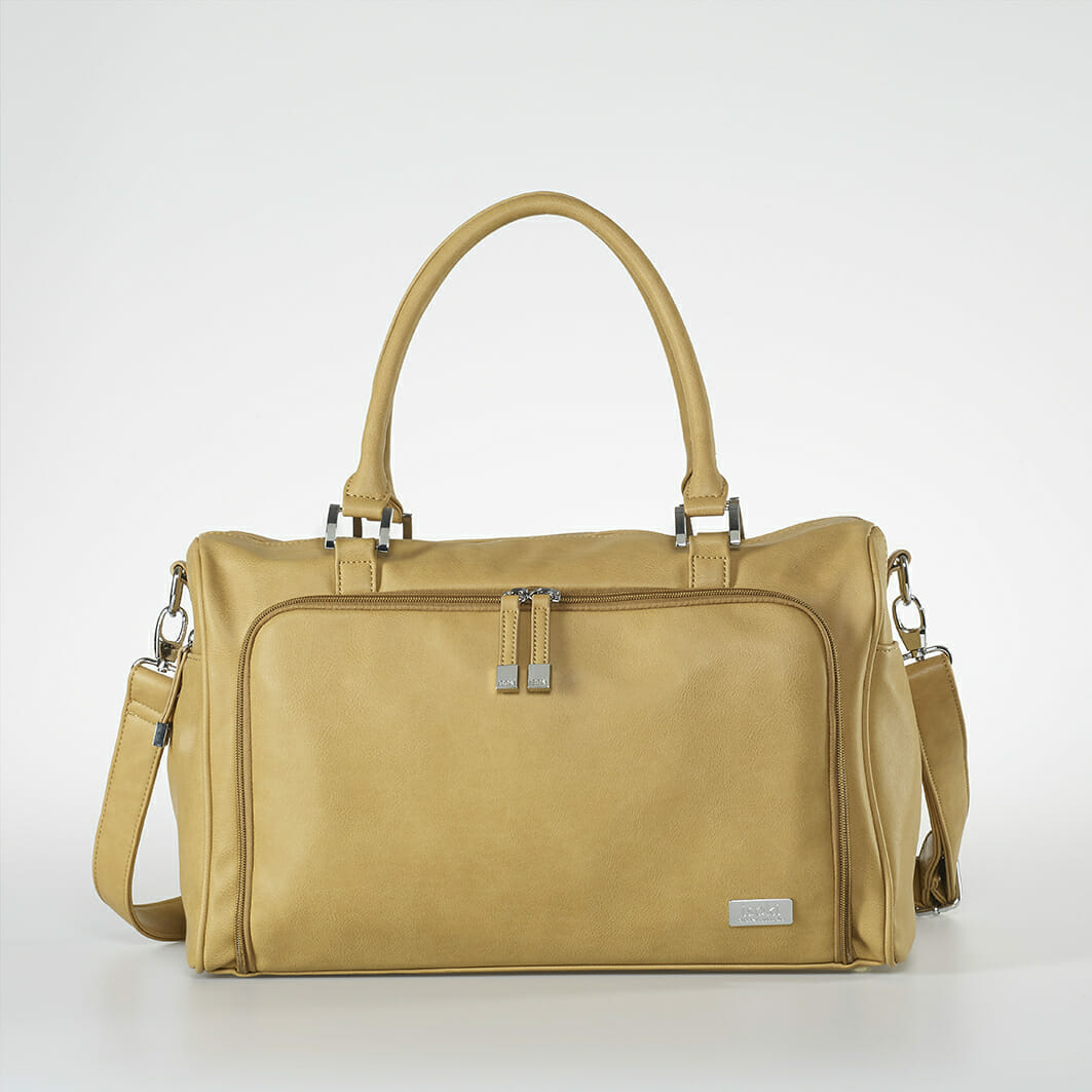 Isoki Double Zip Satchel Nappy Bag - Sorrento