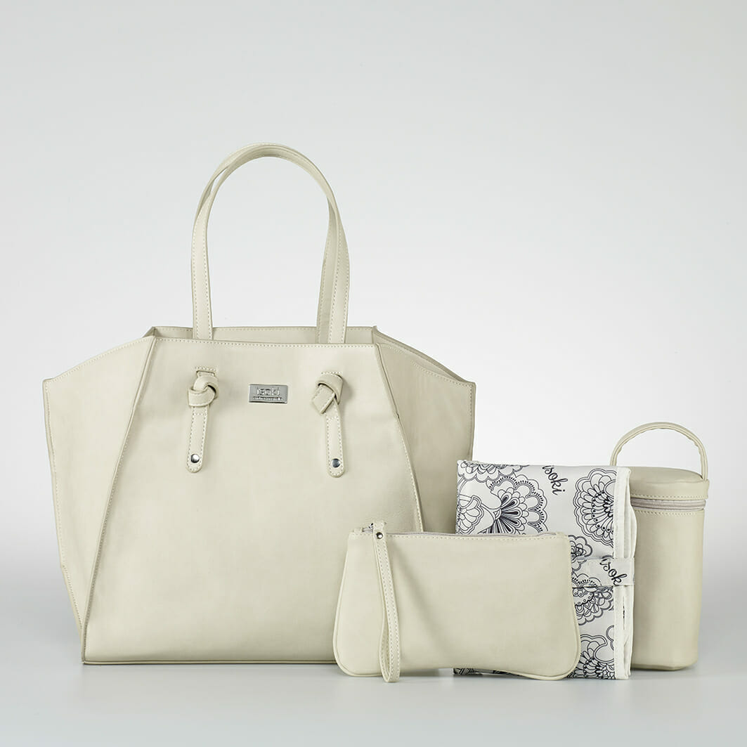 Isoki Easy Access Tote - Brighton with accessories