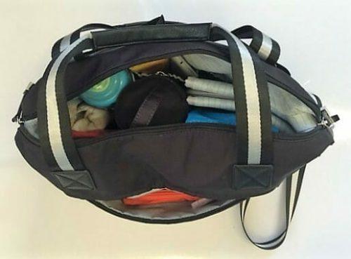 Isoki Pocket Nappy Bag - Inside