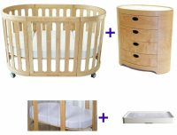 Kaylula Sova Classic Cot and Sova Chest of Drawers Package