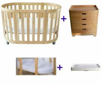 Kaylula Sova Classic Cot + Stor Chest 4 Pce Package Deal