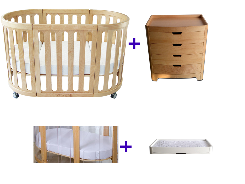 Kaylula Sova Classic Cot and Stor Chest of Drawers Package