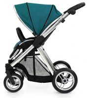 Oyster Max Vogue Seat Unit Silver Chassis Side-Teal