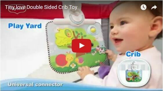 Tiny Love Double Sided Crib Toy Video