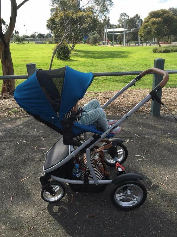 babyhood Doppio Twin Pram 1 Seat