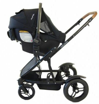babyhood Doppio Twin Pram Travel System