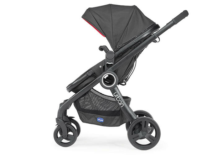 Chicco Urban Plus Red Side View