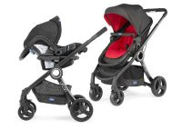 Chicco Urban Plus Red Travel System Capable