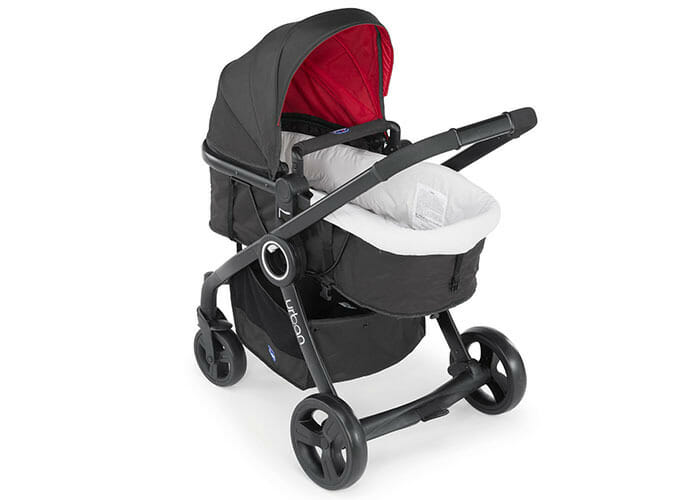 Chicco Urban Plus Red with bassinet