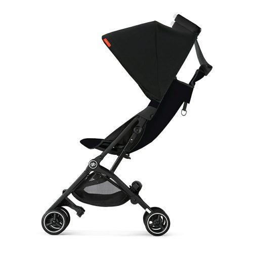 Gb Pockit+ Stroller – Satin Black Side Recline